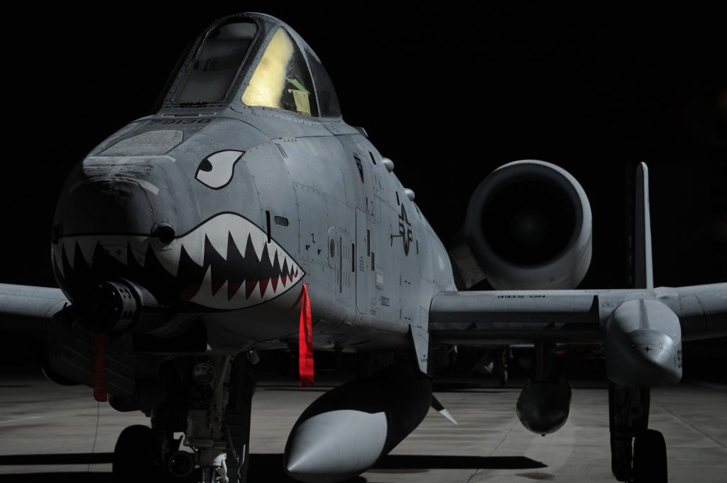 A 10 Thunderbolt II aircraft US Air Force scaled