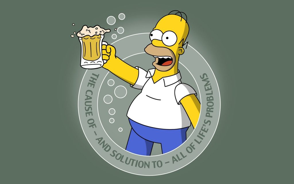 Homer Homer Simpson The Simpsons beer quotes