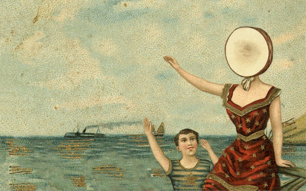 Neutral Milk Hotel In the Aeroplane Over the Sea music album covers