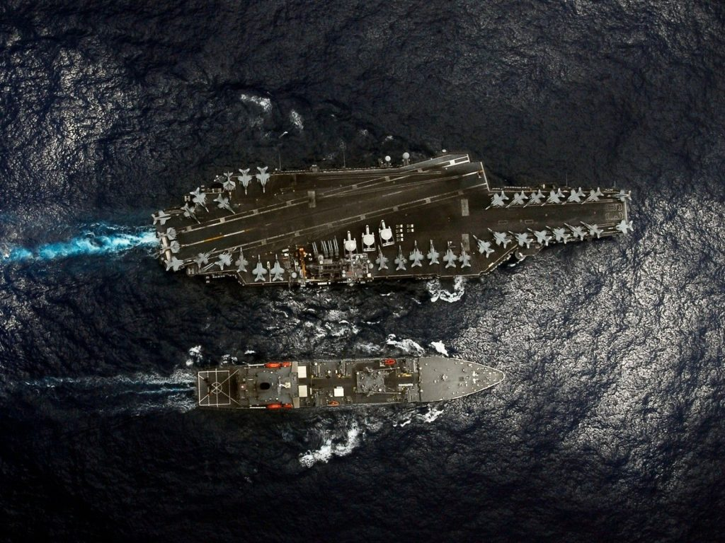 aircraft carriers 12