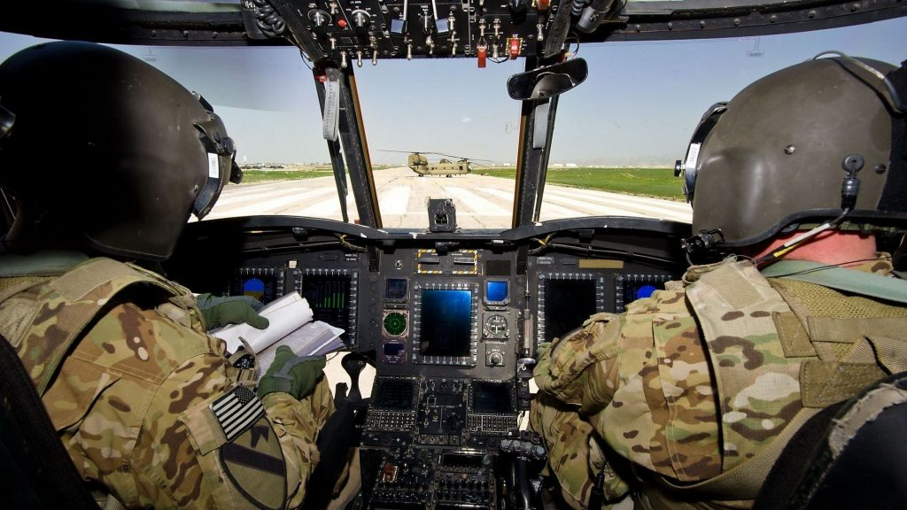 army helicopters cockpits aircraft
