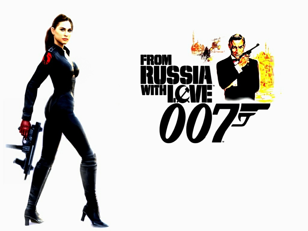 Anime from russia with love video game wallpaper