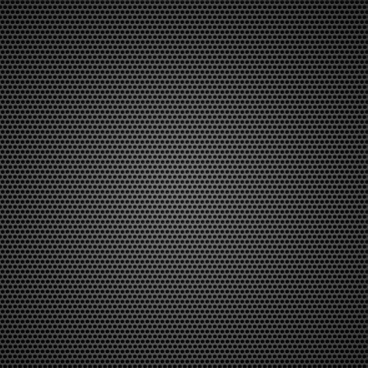 Black Background Metal Hole Small