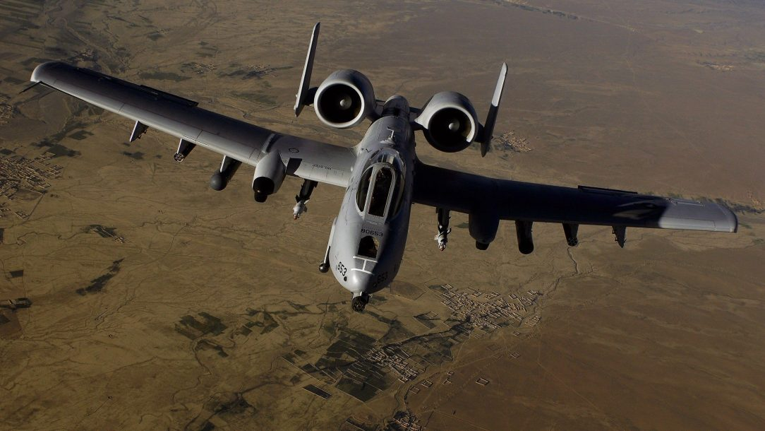 Fighter aircraft planes Jet A 10 Thunderbolt II
