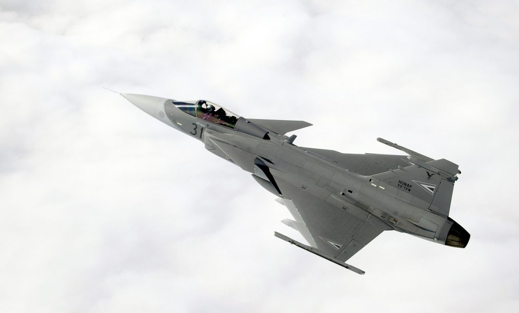 Gripen Fighter planes aircraft construction vehicles skies Jet 9 scaled