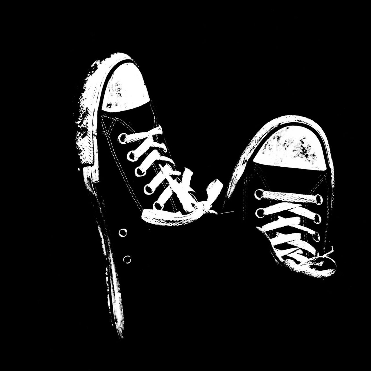 Sneakers Black And White