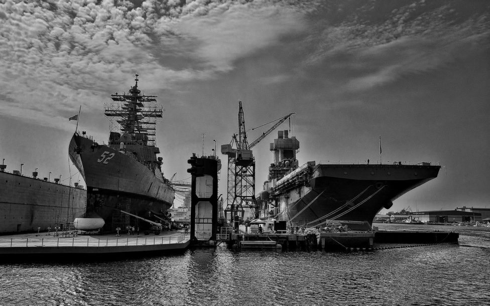 harbor aircraft carriers