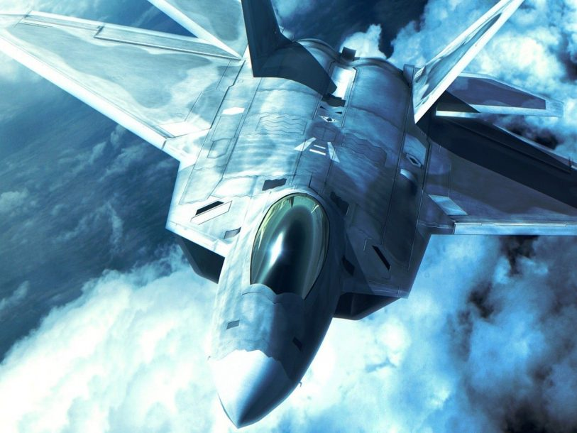 jet fighters aircraft F22 Raptor