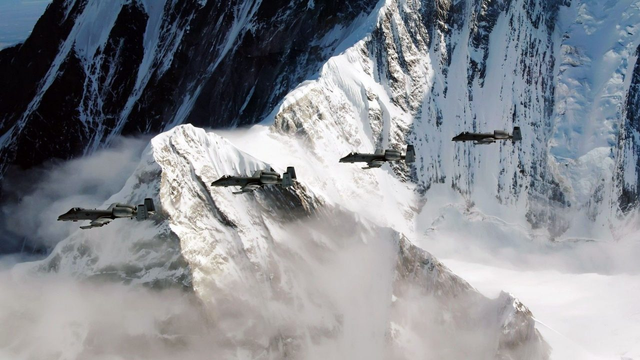 military aircraft planes jets A 10 Thunderbolt II