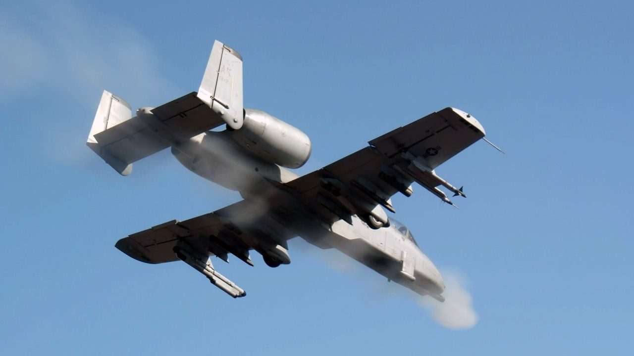 military aircraft planes jets A 10 Thunderbolt II 2