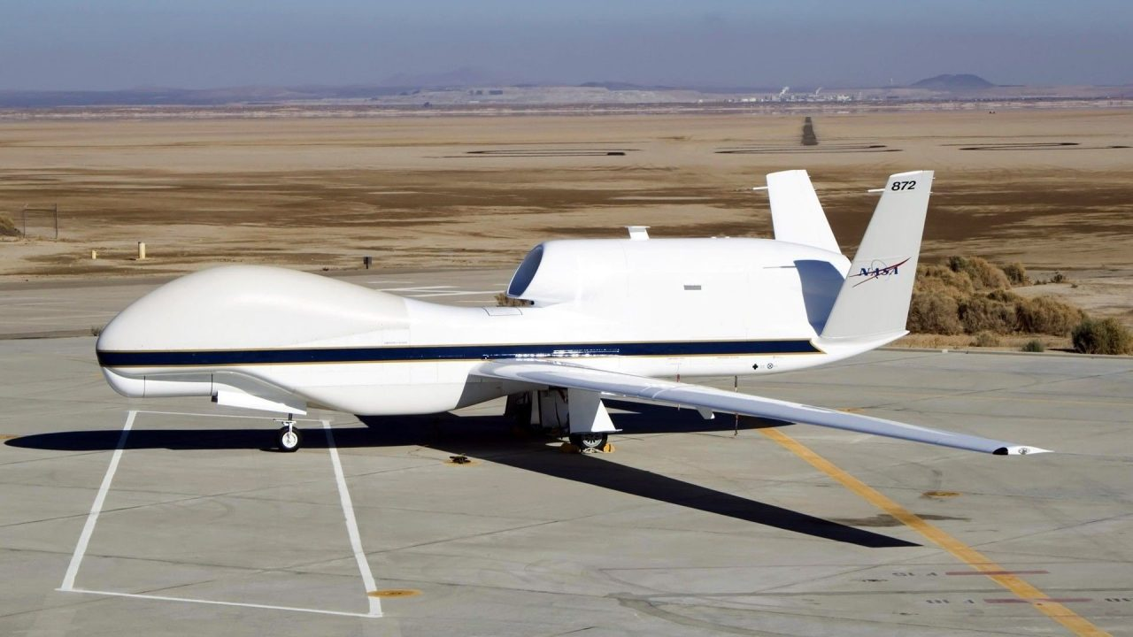 military aircraft planes jets drone RQ 4 Global Hawk