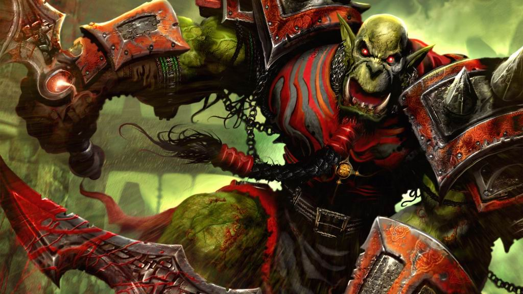 Game orc warrior wallpaper